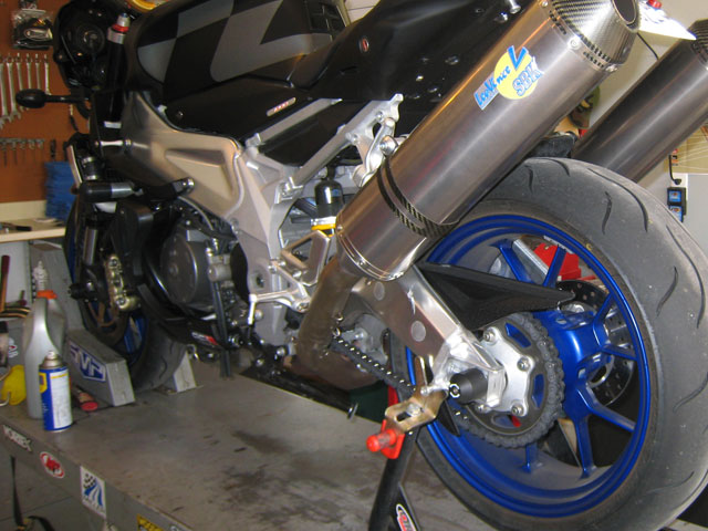 Corporate Race Suspension - How To Remove Motorcycle Shocks
